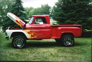 1966 Chevy Short Stepside