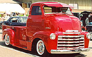 1952 Chevy Cab Over Truck