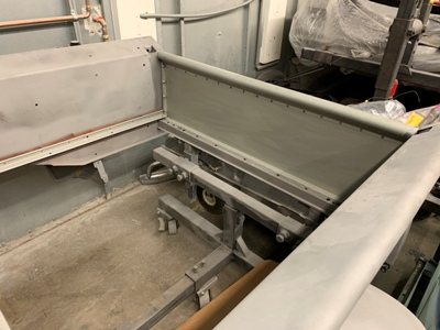 1953 Chevy Short Step front bed panel